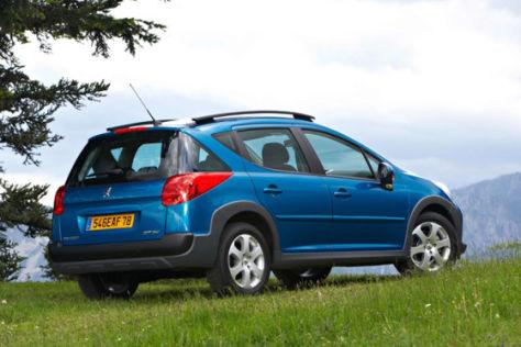 Peugeot 207 SW Escapade und RC