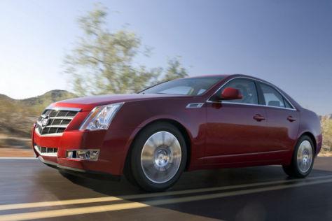 Fahrbericht Cadillac CTS 3.6