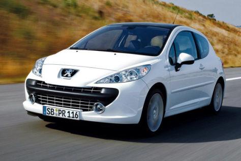 Rückruf Peugeot 207