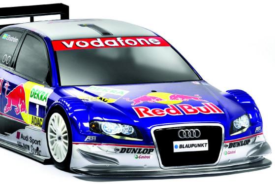 Gewinn der 6. Spielrunde: Gewinnen Sie diesen ferngesteuerten DTM-Audi von Tamiya. Der A4 hat das Design von Mattias Ekströms Wagen aus dem Jahr 2005. Detailgetreu im Maßstab 1:10 gefertigt.