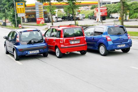 Diesel-Kleinwagen im Vergleich