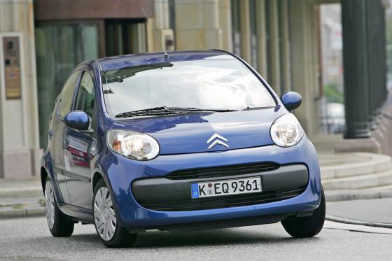 Kurz, kürzer, C1: Der Citroën ist der kleinste Kandidat in diesem Vergleich.