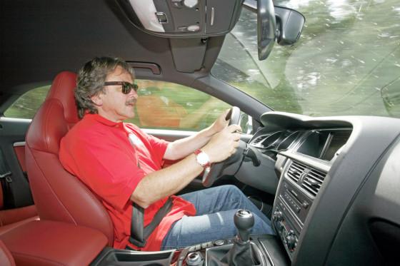 """AUTO BILD-Redakteur Wolfgang König: """"Der S5 beeindruckt, der M3 begeistert."""""""