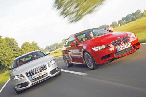 Test Audi S5/BMW M3
