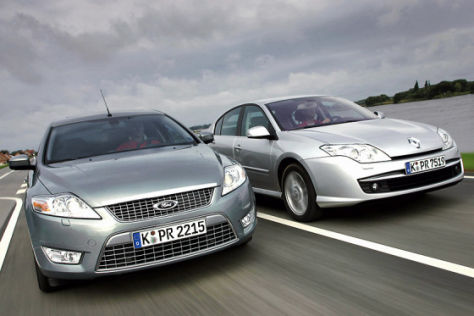 Test Renault Laguna 2.0 dCi/Ford Mondeo 2.0 TDCi