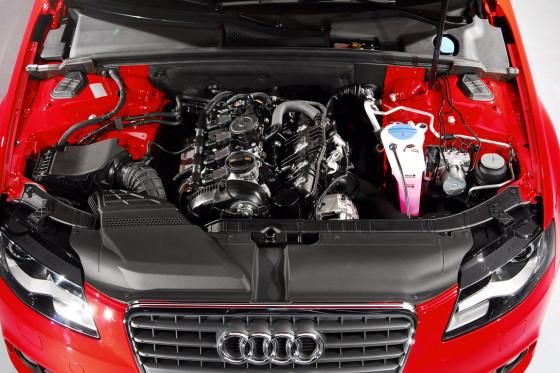 Basis: Einstiegs-Benziner ist der 1.8 TFSI mit 160 PS.