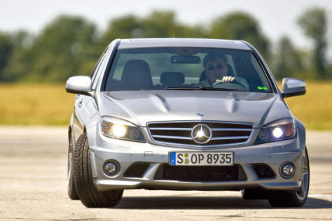 Test Mercedes-Benz C 63 AMG