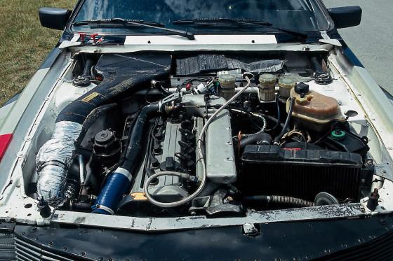 Der 340 PS starke A1-Motor entfaltet aus seinen fünf Zylindern einen kraftvollen Sound.