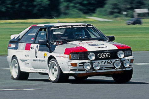Tracktest Audi quattro A1