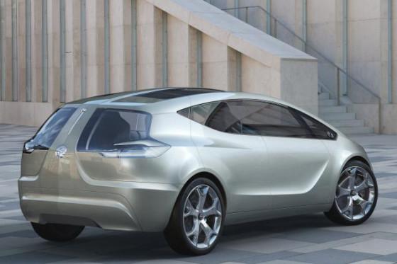 Innovation im Stil eines Kompaktvans: der Opel Flextreme.