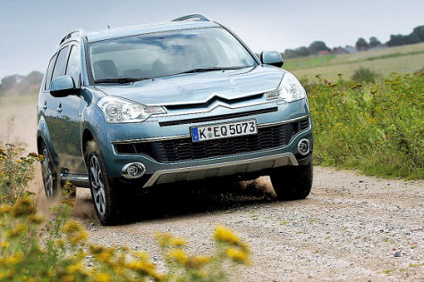 Test  Citroën  C-Crosser HDI 155