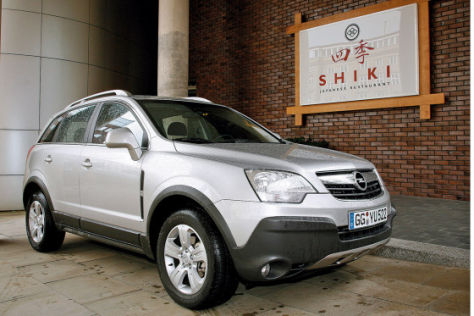 Test Opel Antara 2.4