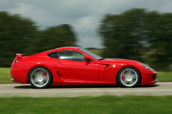 Optisch ein Ferrari: Der Tuner verändert das Blechkleid des 599 GTB Fiorano nur behutsam.