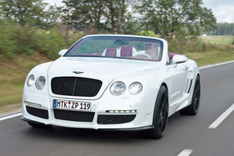 Test Le Mansory Convertible