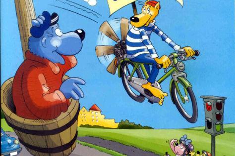 """Verkehrsfibel """"Käpt'n Blaubär"""""""