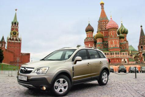 St. Petersburg baut Opel-SUV