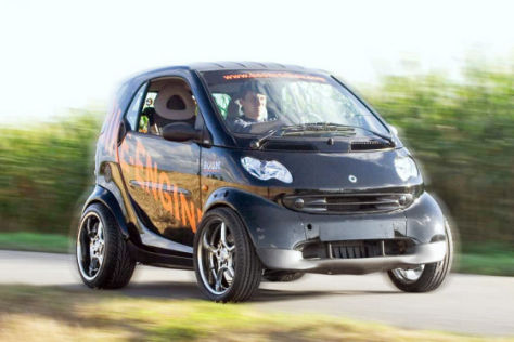 Smart fortwo mit 190 PS