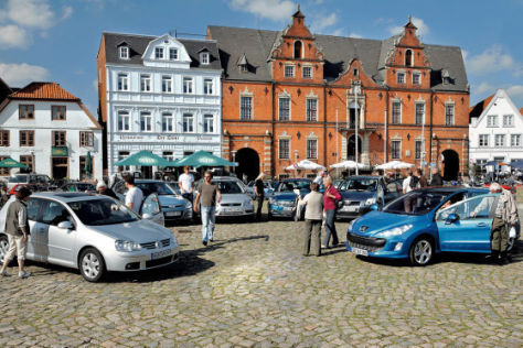 Test Peugeot 308 gegen fünf Kompakte