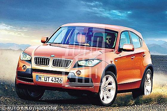 BMW X1 (Illustration): Der Bau ist beschlossene Sache, das SAV ist Teil der Zukunftsstrategie von BMW-Chef Reithofer.