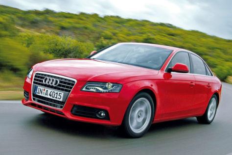 Test Audi A4 1.8 TFSI