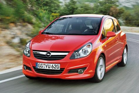 Test Opel Corsa GSI