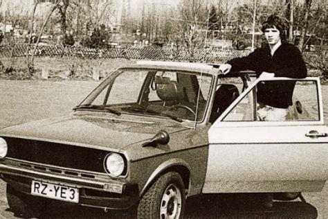 VW Polo 1976 und 2002