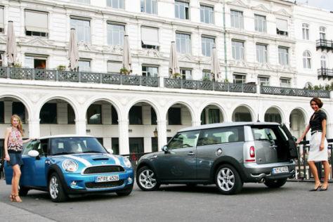 Mini Cooper S gegen Clubman