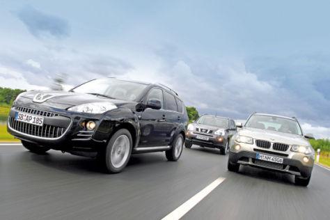 Peugeot 4007/Nissan X-Trail/BMW X3