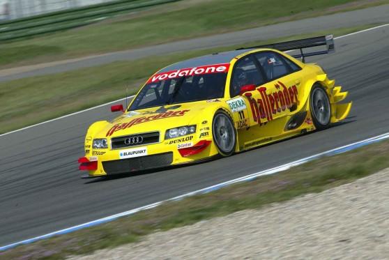 Eines von Christiaan Abt´s Lieblings-Autos: Der Audi A4 DTM 2004.