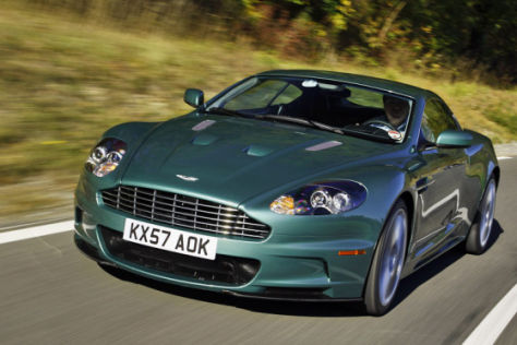 Test Aston Martin