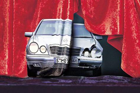 Unfall Mercedes E-Klasse