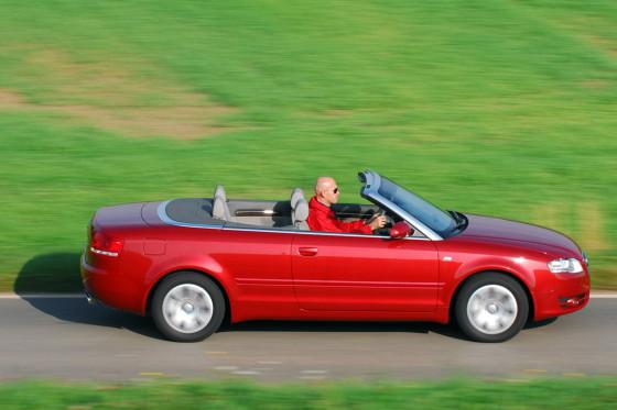 Kam im Sommer 2002: das A4 Cabrio.