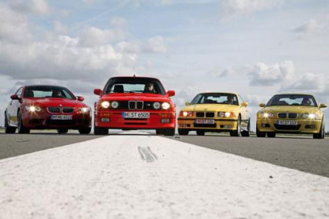 BMW M3 gestern und heute