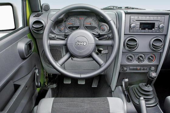 Test Jeep Wrangler 3.8 Sport