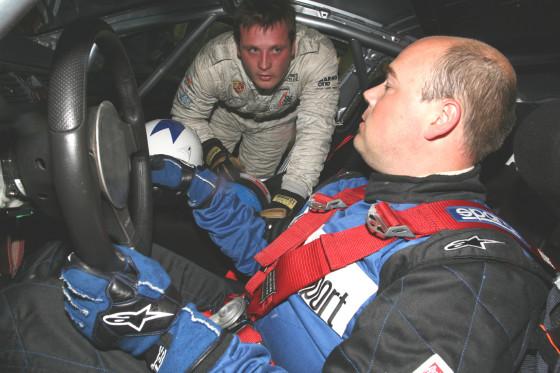 ABMS-Testfahrer Guido Naumann