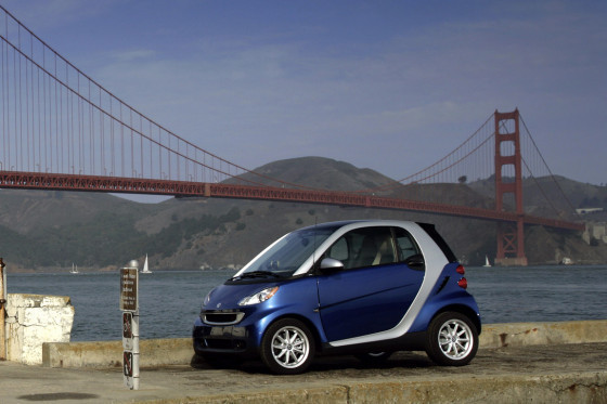 Smart fortwo in Amerika