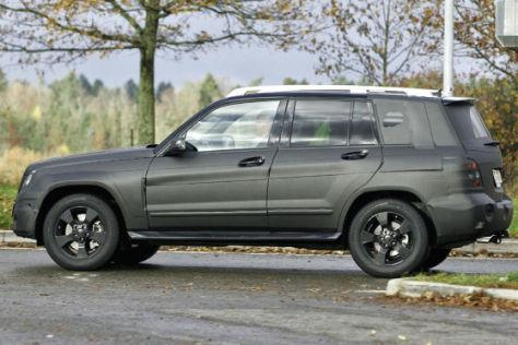Erlkönige Mercedes-Benz