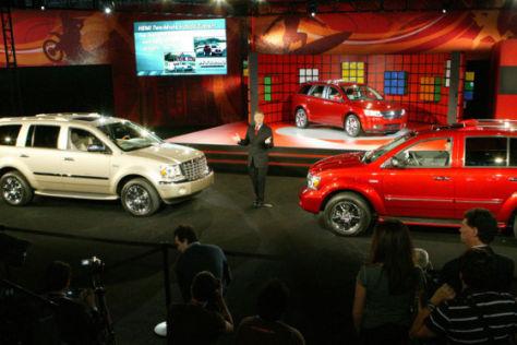 LA Auto Show 2007 Dodge Durango Hybrid Chryser Aspen Hybrid