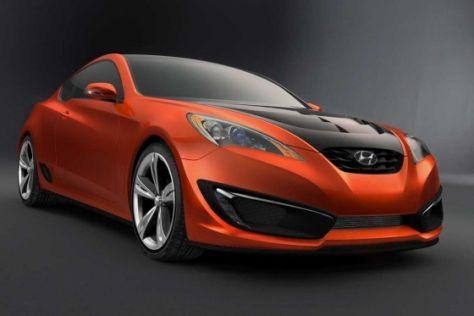 Studie Hyundai Genenis Coupé