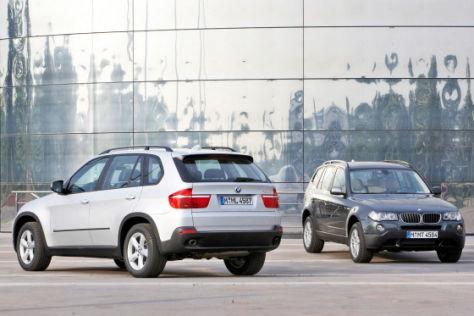 BMW X3 BMW X5