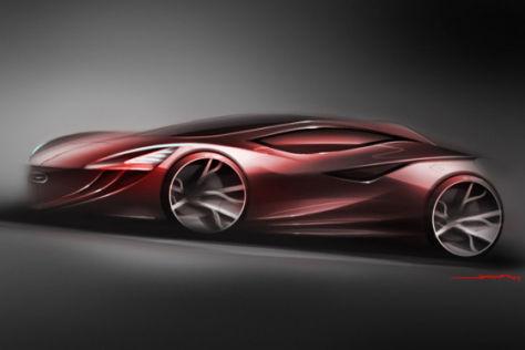 Mazda auf der LA Auto Show