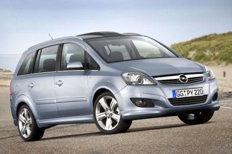 Facelift Opel Zafira