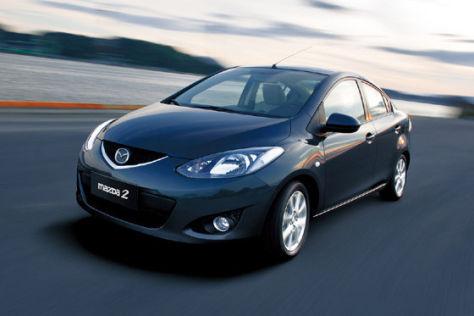 Mazda2 Stufenheck
