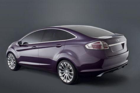 Ford Verve-Stufenheck-Studie