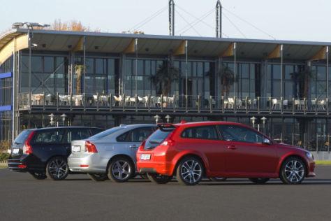 R-Designpakete für Volvo C30, S40, V50