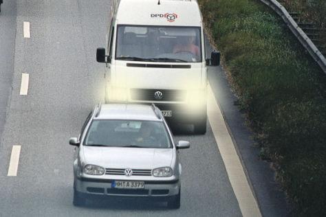 Tempolimit für Kleintransporter