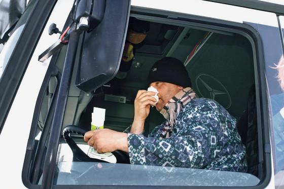"""Projekt """"Doc Stop"""": An den Raststätten wird kranken Truckern ärzliche Hilfe vermittelt."""
