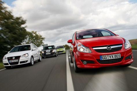 Test Corsa GSi/Polo GTI/Fiesta ST/207 THP