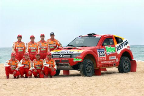 Rallye Dakar 2008 Team Mitsubishi