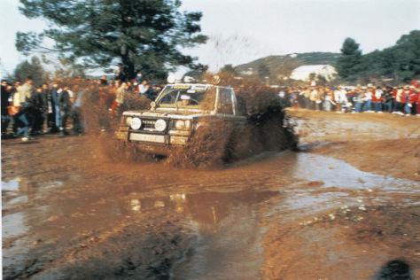 Dakar 1983 Mitsubishi Pajero